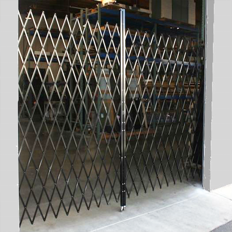 China Factory Supply Top Sell Size Customized Nice Design Safety Folding Door Double Fixed Steel Gates