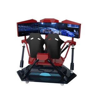F1 4d auto racing simulator arcade racing car game machine 6 axis Triple screen Racing auto