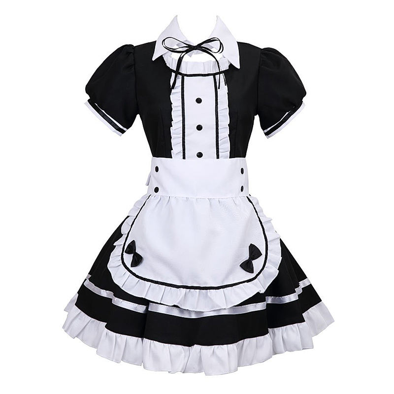 Kostüm Anime Maid Kleid Akihabara Kotetsu Kiyone Cosplay Phantasie Party Kleid Outfit