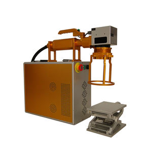 Faith mini portable fiber laser marking machine new design metal engraving laser marking machine