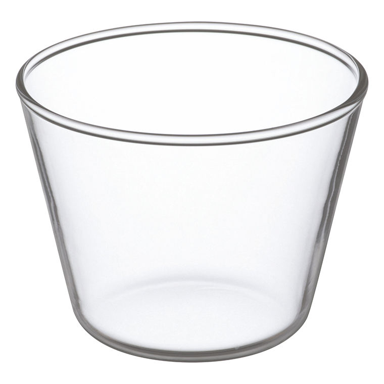 Pudding Cup private glass manufacturer design small transparent cup