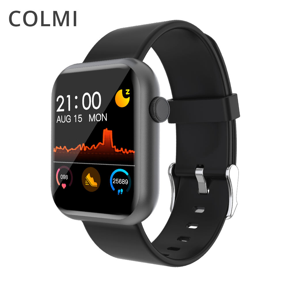 Colorful Smartwatch Heart Rate Waterproof Colmi Wrist Android Smart Watch Phone Oem