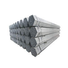 ASTM A53 construction hot dipped galvanized steel pipe and tube