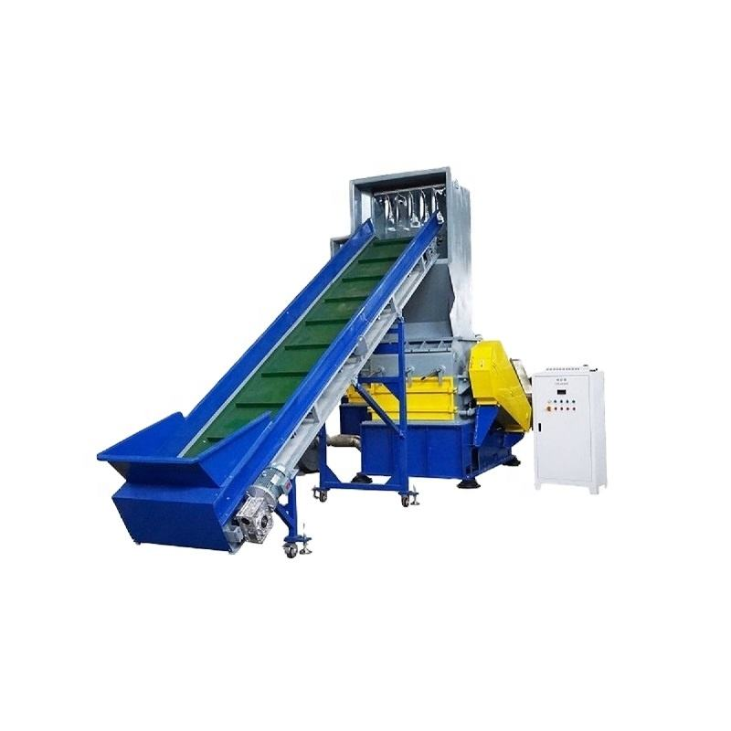 High capacity plastic bottle recycling equipment