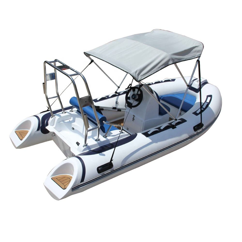 China Factory High Quality 6-person RIB 390 Inflatable River Rafting Boat