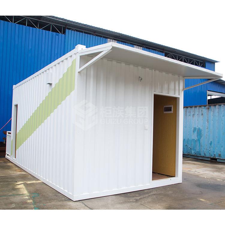 Moderno envío contenedor de casa de lujo prefabricada 40ft envío casa contenedor para oficina y vida