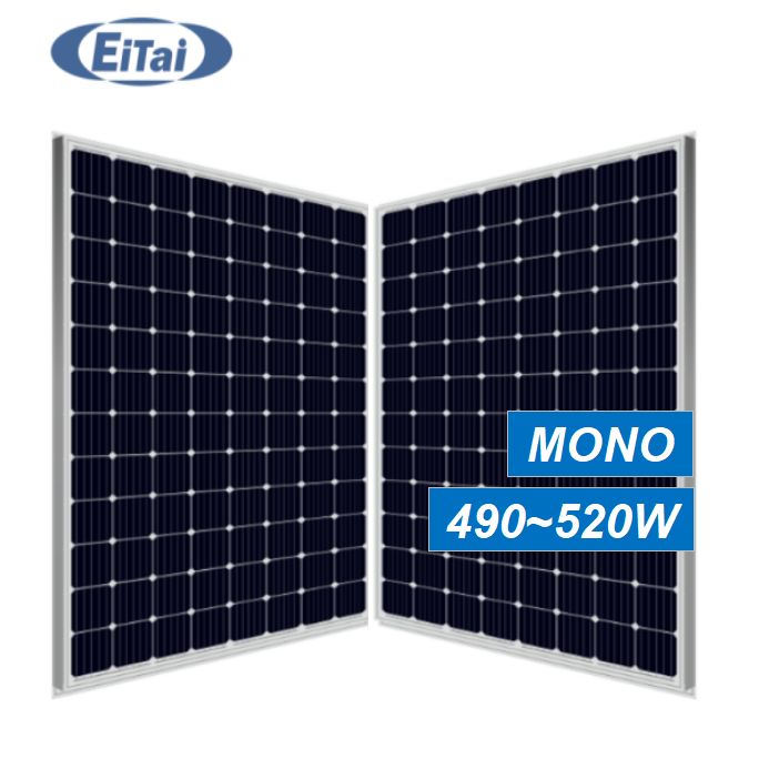 R1-264 Eitai Ready To Ship Solar Panel Mono 500W 510W 520Watt 5BB Pv Module For Soler Power System Panel