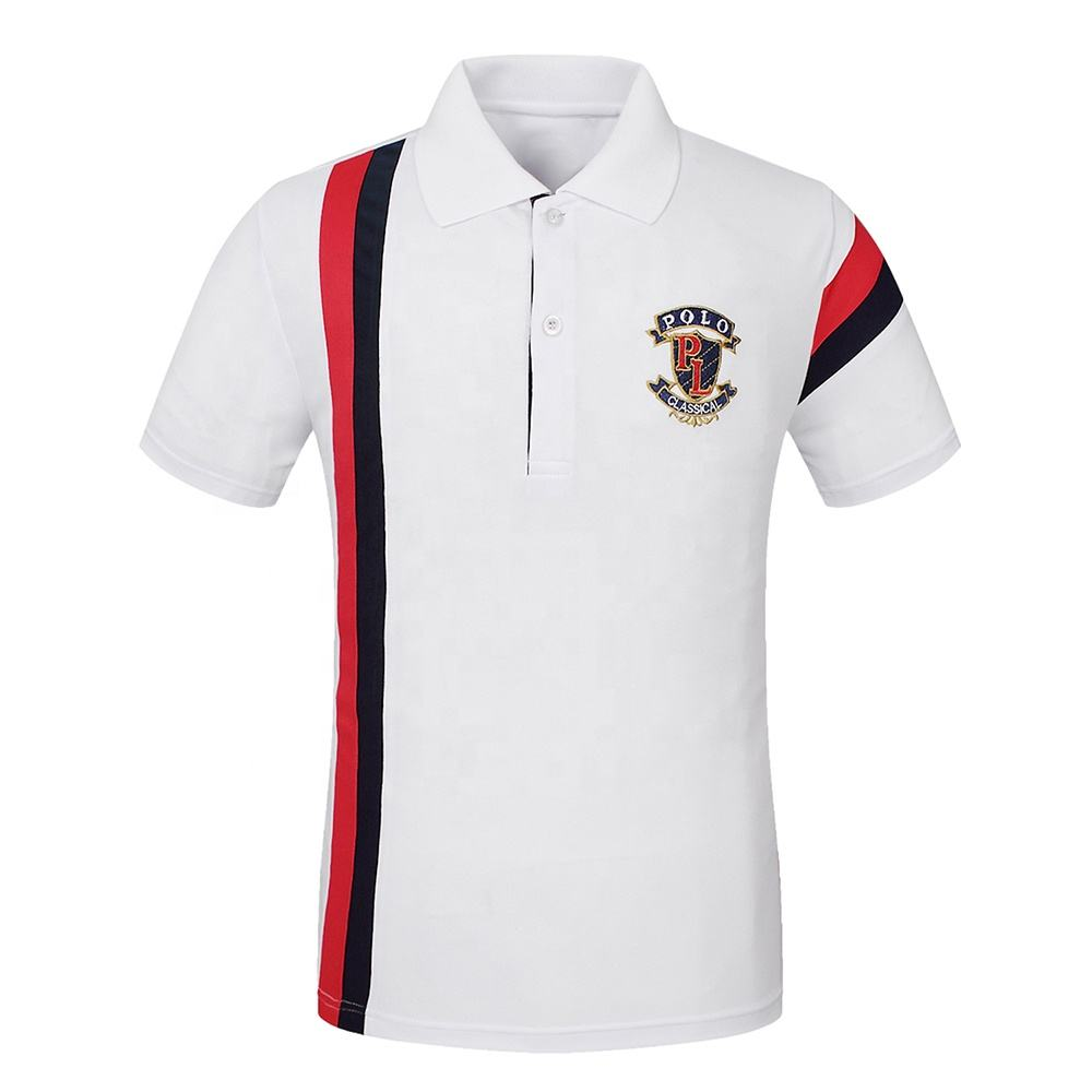 Men's Golf Polo Tops & Tees Short Sleeve Golf Shirts Quick Dry Fit embroidered polo shirts dry fit golf shirt