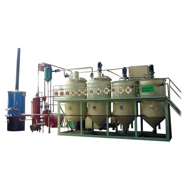 corn soya sunflower oil processing plant crude edible oil refinery plant mini oil mill plant