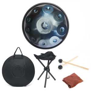 10 Tones Carbon Steel Handmade Performance Percussion Musical Instruments Drum For Gift