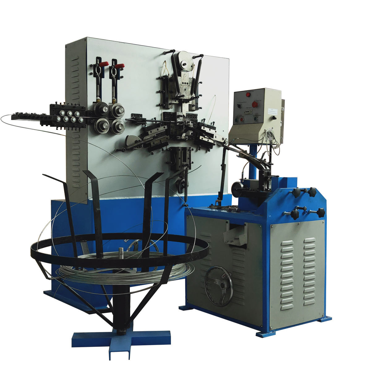 Fast Speed screw eye hook Making Machine with Threaded