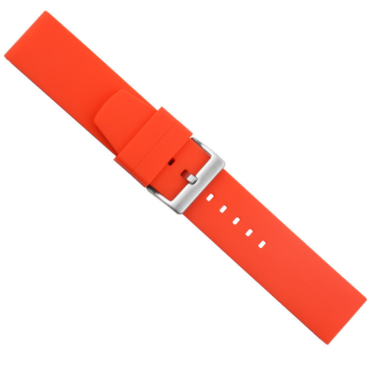 High Quality Rubber Watchband Thickened Strap for Wristwatch Silicone Band