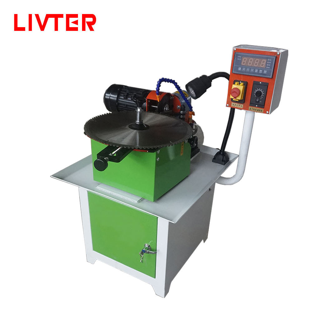 LIVTER Automatic Cheap Factory Price Saw Blade Polishing Machine Grinder Sharpener Tool