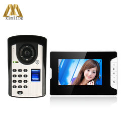 7 inch color video door phone good quality apartment video d
