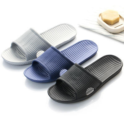 Factory Wholesa Customized Color EVA Hotel Bathroom Slippers Simple Indoor Non-slip Couples Shower Home Soft Soled Slippers