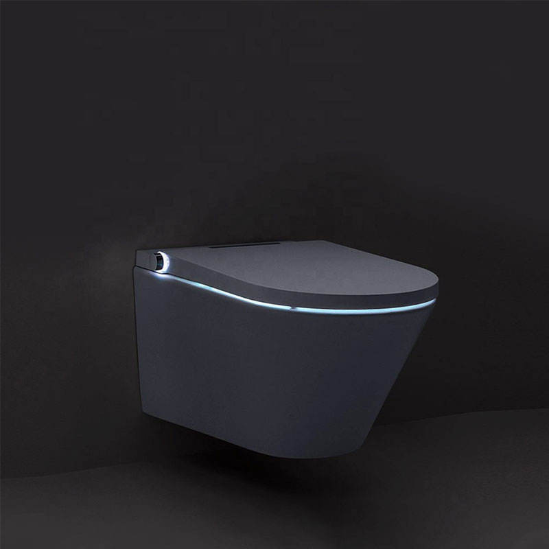 Japanese luxury One Piece Wall Mounted automatic multifunctional smart toilet for hotel bathroom