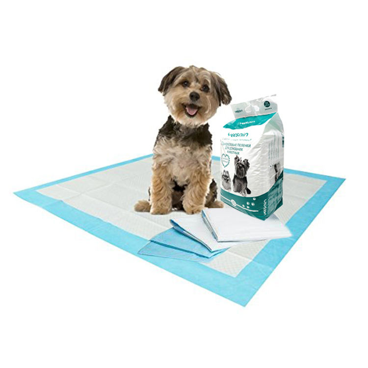 Free Samples Dog Cat Pee Pad Cheap Biodegradable Rolls Doggie Puppy Potty Training Holder Underpad