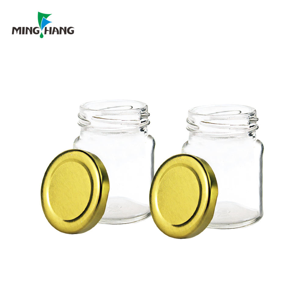 20ml And 30ml Mini Glass Honey And Jam Jar 50ml Gold Lid Glass Jam Jar In Bulk