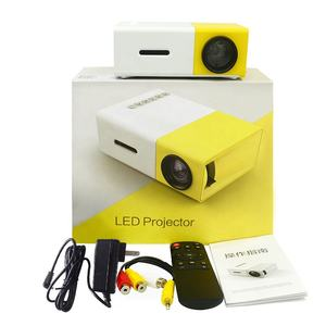 2020 LED Mini Proyektor Portable Home Mini Theater LCD Projector Proyektor Saku