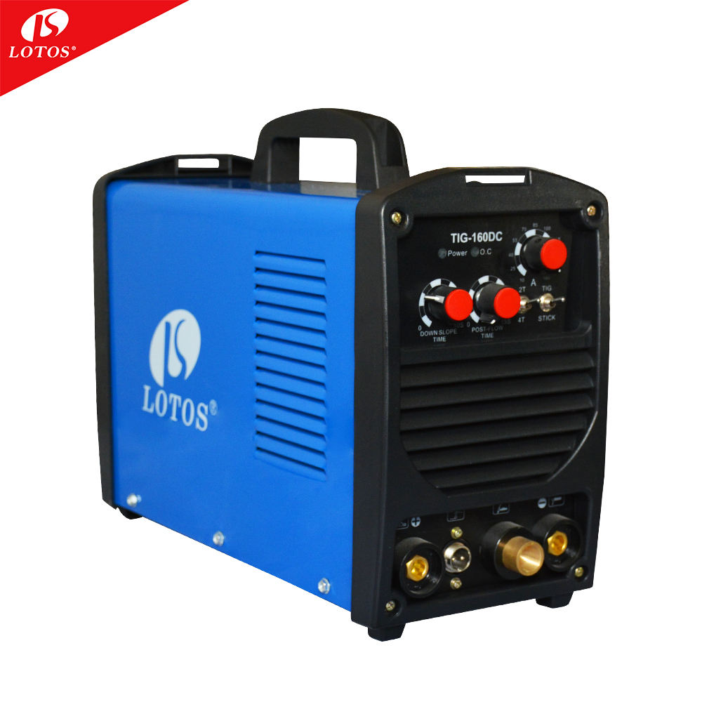 Lotos Tig160 welder factory price 110v 220v soldadora mig tig factory price of dc inverter welding machine arc for thanksgiving