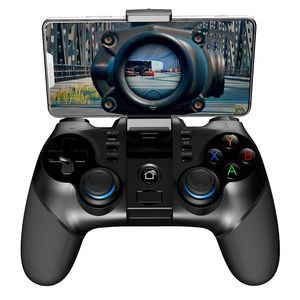 Ipega Pg-9156 Smart Bt Game Controller Gamepad Wireless Joystick Console Game With Telescopic Holder For Smart Tv/ Phon