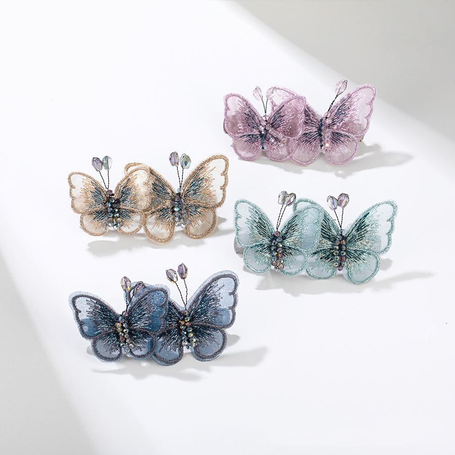 BL00607 xuping 2020 fashion butterfly shaped natural style beautiful hair accessories for women
