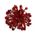 2020 New Product 4 Inches Glitter Sea Urchin Hanging Ornament for Christmas Tree