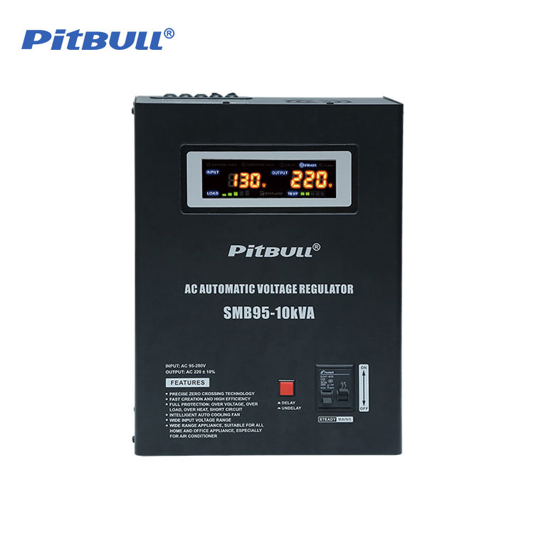 Baru Digital Display 500va-20kva Ac 220V Voltage Stabilizer
