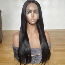 new fashion premium pre plucked virgin cuticle aligned human hairline 4x4 hd hair lace closure wigs