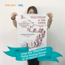 Eco-friendly full color paper printing large posters