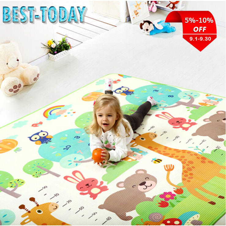 Eco Friendly 방수 Printed 놀이 친구 대 한 kids 크롤 링 Baby 층 Play Mat