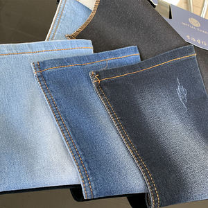 Factory sale simple design cheap price 9.5oz knitted denim stretch fabric