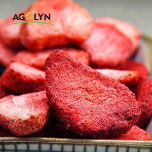 AGOLYN Healthy Food 100% Natural Crispy Freeze Dried Strawberry
