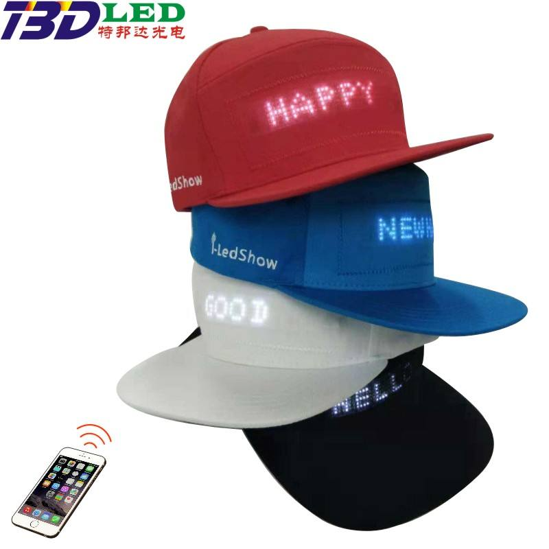 Dj Disco Deer Knitted Cotton Hip Hop Cool Flashing Christmas Snap Logo Cheap Cap Kids Funny Custom Bucket Led Boonie Hat