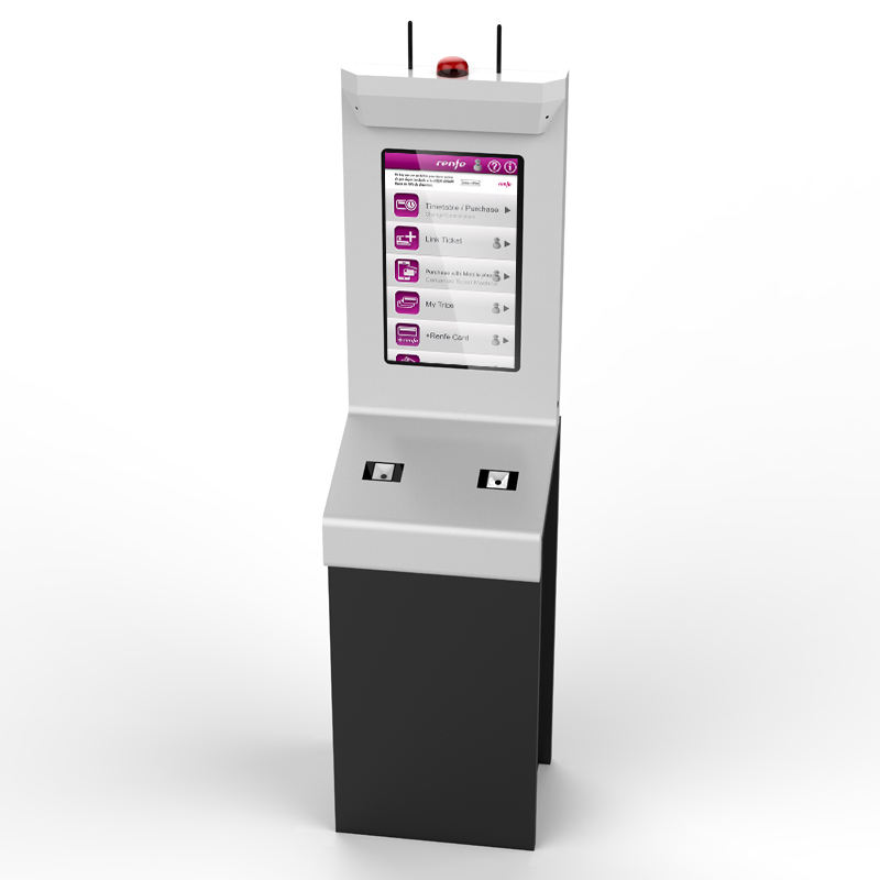 Touch Screen Electronic Ticket Dispenser Machine Provides Customizable Solutions