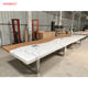 large size and 18 feet long oval conference table meeting