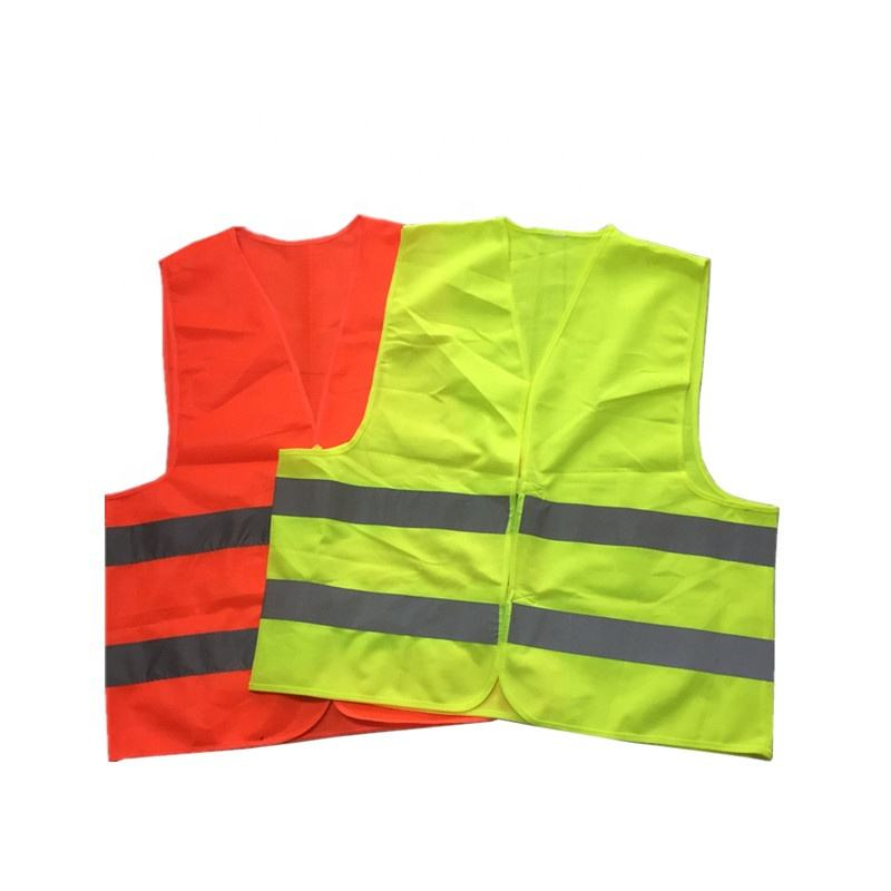 Best-selling yellow reflective safety vest.