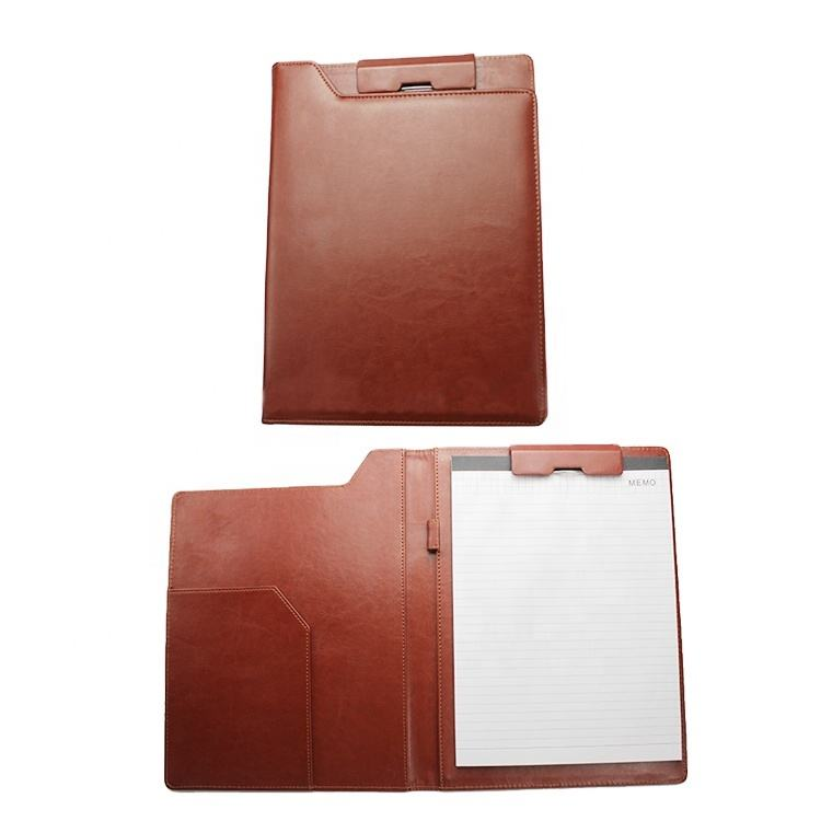 2020 New products A4/A3/A5 briefcase new style leather folder
