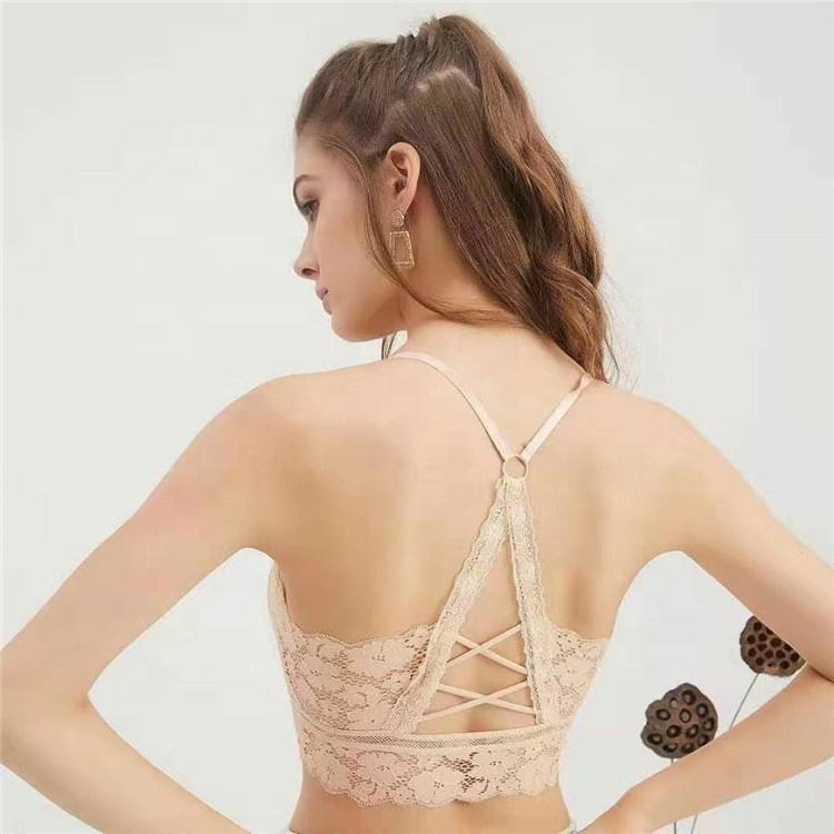 Factory price strapless Qualities product women beauty back chest bra boob girls sexy yoga tube top for womens