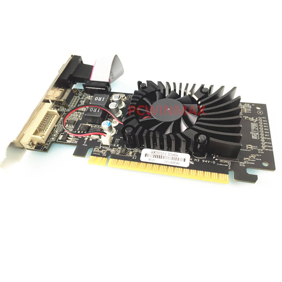 2020 NV VGA GeForce GT210 1GB 64 Bit DDR2 Kartu Grafis