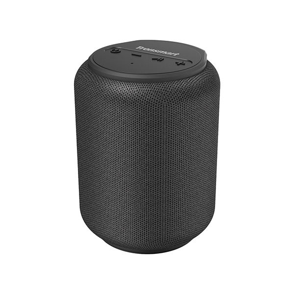 Tronsmart T6 Mini Bluetooth Speaker TWS Speakers IPX6 Wireless Portable Speaker with 360 Degree Surround Sound, Voice Assistant