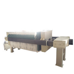 Dying wastewater treatment plate-and-frame filter press sludge dewatering machine