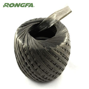 Biodegradable Black PP Raffia Plastic String Roll for Garden