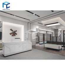 Fashion Boutique Store Layout Cloth Shop Furniture Design