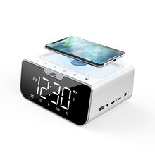 Professional Manufacturer Wholesale Electronic Alarm Clock, Wireless Charger Clock