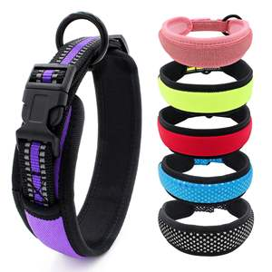 Reflective Nylon Quick Release Dog Puppy Pet Collar