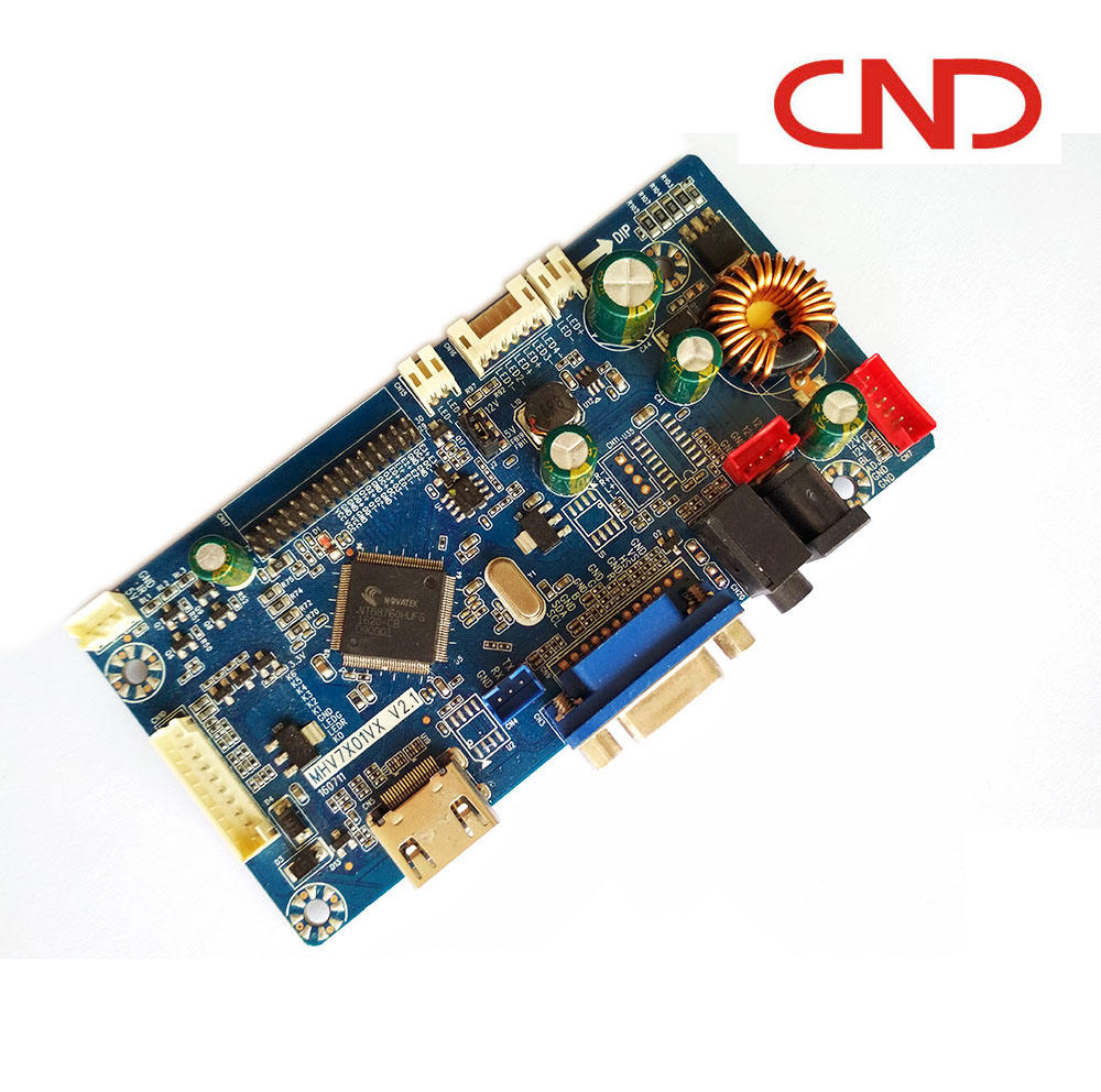 LCD LED PC monitor 1920*1200 Full HD HDMI VGA LVDS Adapter driver controller belangrijkste scaler board