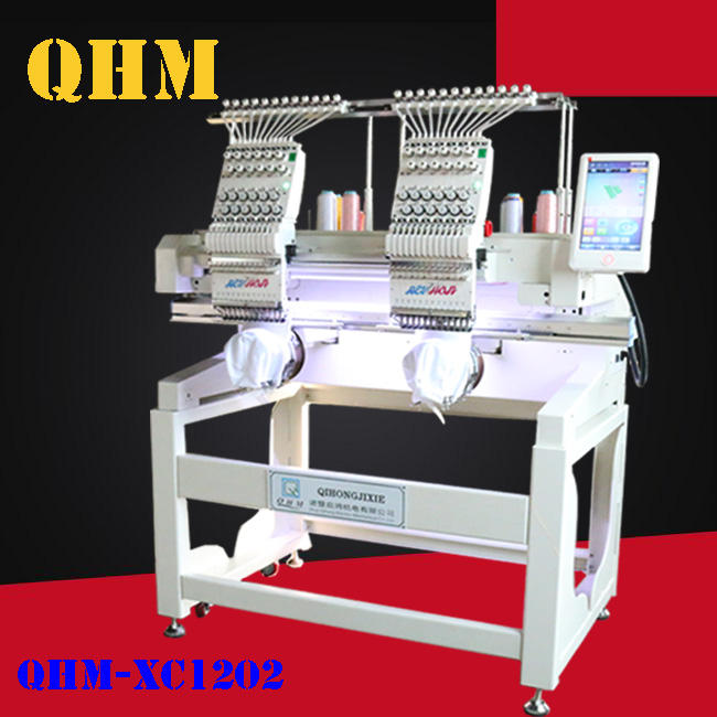 doule Head computerized automation embroidery machine hat sewing computer embroidery machine