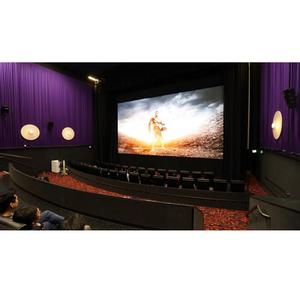 16:9 HD Acoustic Movie Theater Screen /Fixed Projection Screen /Perforated Projector Screen