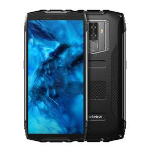 Blackview BV6800 Pro MobilePhone 4GB+64GB Helio P60 IP68 Waterproof Shockproof 6580mAh Battery 5.7 inch Wireless Charge NFC